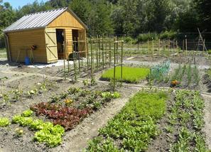 20 parcelles mises à disposition des jardiniers