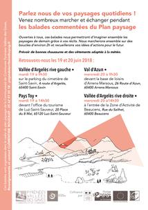 Balades commentées du Plan paysage