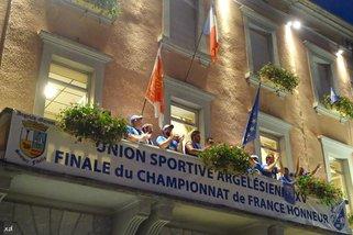 RETOUR DE NOS CHAMPIONS DE L'USA XV