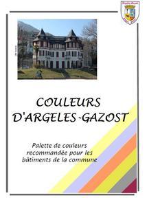 PALETTE de COULEURS recommandée pour les bâtiments