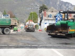 Aménagement du carrefour Avenue des Pyrénées - Avenue de la Marne