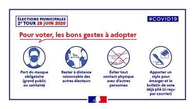 POUR VOTER, LES BONS GESTES À ADOPTER