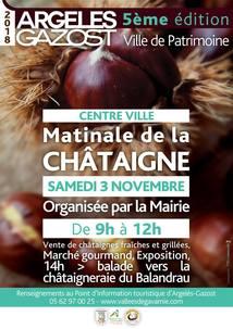 MATINALE DE LA CHATAIGNE A ARGELES-GAZOST