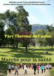MARCHE POUR LA SANTÉ AU PARC THERMAL D'ARGELÈS-GAZOST