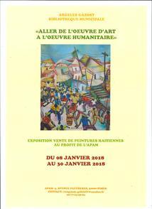 EXPOSITION DE PEINTURES HAITIENNES A LA MEDIATHEQUE D'ARGELES-GAZOST