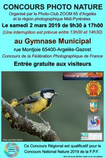 CONCOURS PHOTO NATURE AU GYMNASE MUNICIPAL D'ARGELES-GAZOST