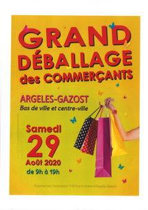 GRAND DÉBALLAGE DES COMMERÇANTS D'ARGELES-GAZOST