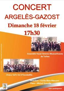 CONCERT EN L'ÉGLISE D'ARGELÈS-GAZOST