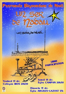 PASTORALE BIGOURDANE DE NOEL EN L'EGLISE D'ARGELES-GAZOST