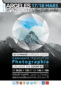 CONCOURS RÉGIONAL DE PHOTOGRAPHIE AU GYMNASE D'ARGELÈS-GAZOST