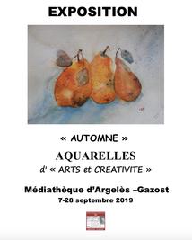 EXPOSITION A LA MÉDIATHÈQUE D'ARGELES-GAZOST