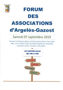 FORUM DES ASSOCIATIONS D'ARGELES-GAZOST
