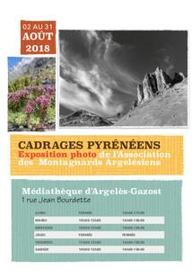 EXPOSITION PHOTO ASSOCIATION DES MONTAGNARDS ARGELESIENS A LA MEDIATHEQUE D'ARGELES-GAZOST
