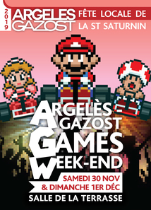 ARGELES GAMES WEEK-END - SALLE DE LA TERRASSE ARGELES-GAZOST