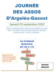 FORUM DES ASSOCIATIONS AU GYMNASE MUNICIPAL D'ARGELES-GAZOST