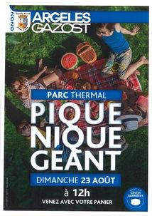 PIQUE-NIQUE GÉANT AU PARC THERMAL